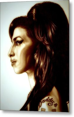 Amy Metal Print by Fred Larucci