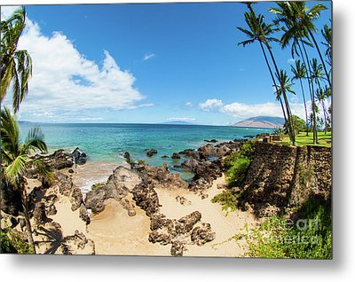 Metal Print featuring the photograph Amzing Beach In Hawaii Islands by Micah May