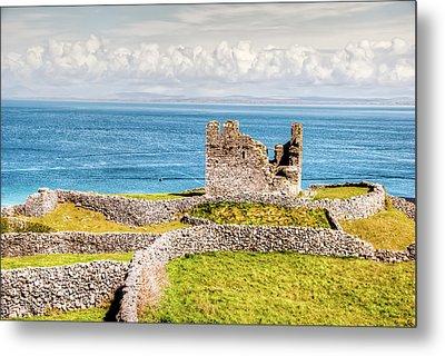 An Ancient Irish Castle Metal Print by Natasha Bishop