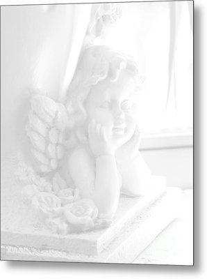 An Angel Awaits Metal Print