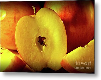 An Apple A Day Metal Print by Brian Roscorla