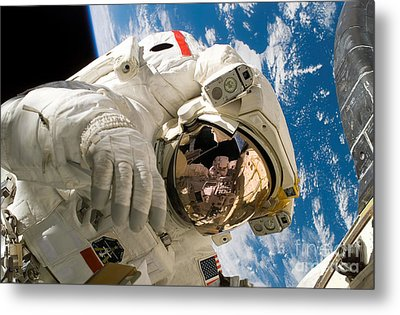 An Astronaut Mission Specialist Metal Print by Stocktrek Images