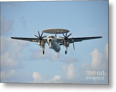 An E-2 Hawkeye  Metal Print by Celestial Images