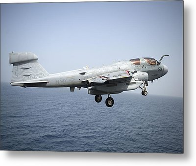An Ea-6b Prowler  Metal Print by Celestial Images