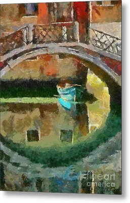 An Early Morning In Venice Metal Print by Dragica  Micki Fortuna