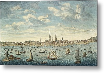 An East Prospective View Of The City Of Philadelphia Metal Print by George Heap