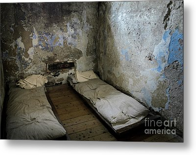 Metal Print featuring the photograph An Empty Cell In Cork City Gaol by RicardMN Photography