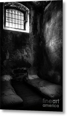 Metal Print featuring the photograph An Empty Cell In Old Cork City Gaol by RicardMN Photography