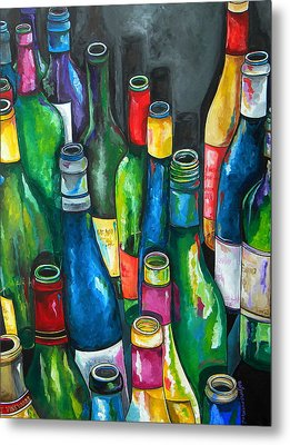 An Evening With Friends Metal Print by Patti Schermerhorn