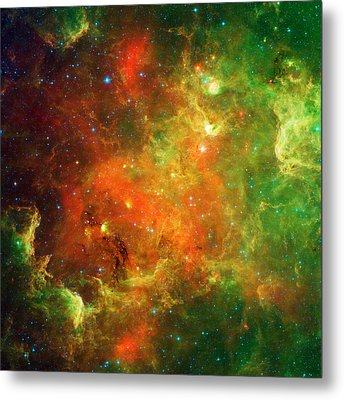 An Extended Stellar Family - North American Nebula Metal Print