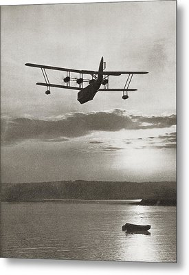 An Imperial Airlines Scipio Class Metal Print by Vintage Design Pics