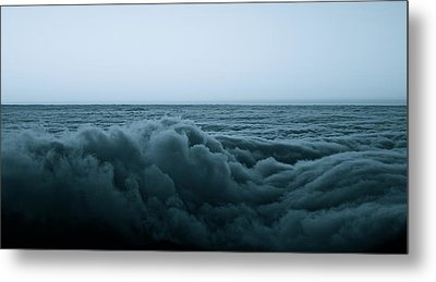 An Ocean Of Clouds Metal Print