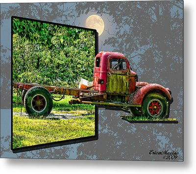 Metal Print featuring the photograph An Old Relic by EricaMaxine  Price