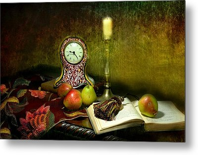 An Open Book Metal Print by Diana Angstadt