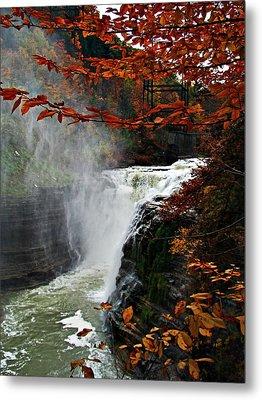 An Upper Letchworth Autumn Metal Print