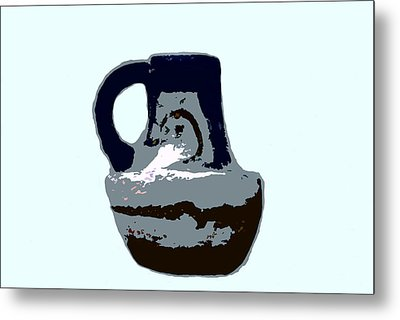 Anasazi Jug Metal Print by David Lee Thompson