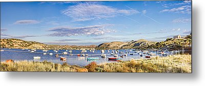 Anavyssos Bay Metal Print by Gabriela Insuratelu