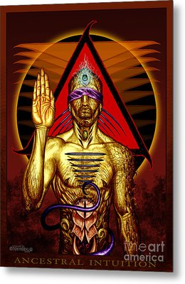 Ancestral Intuition Metal Print