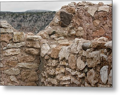 Metal Print featuring the photograph Ancient Buildings by Phyllis Denton