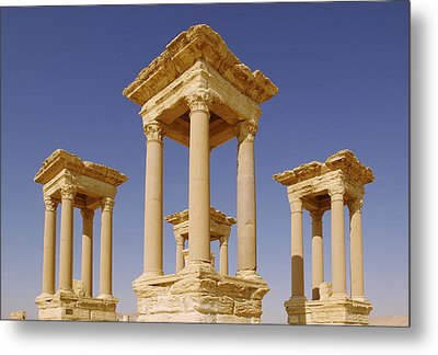 Ancient Palmyra Metal Print by Roman School
