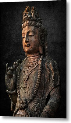 Metal Print featuring the photograph Ancient Peace by Daniel Hagerman