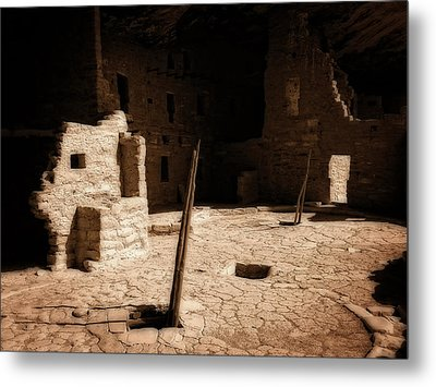 Metal Print featuring the photograph Ancient Sanctuary by Kurt Van Wagner