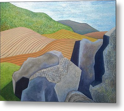 Ancient Stones Metal Print by Jennifer Baird