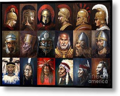 Ancient Warriors Metal Print