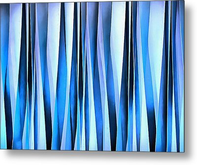 And Thats Why They Call It The Blues Metal Print by Tracey Harrington-Simpson
