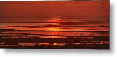 Metal Print featuring the photograph And The Sea May Look Warm To You Babe by Peter Thoeny