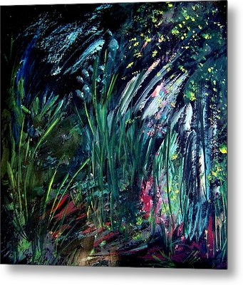 And The Weeds Grow Metal Print by Ellen Seymour