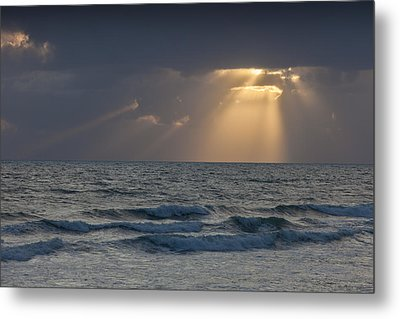 And Then There Was Light Metal Print by Cliff Wassmann