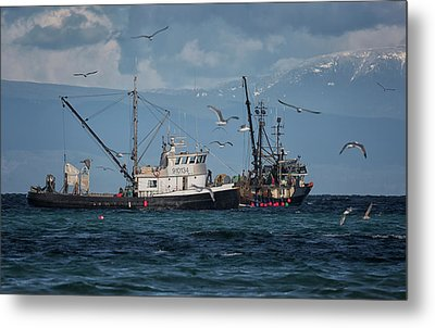 Metal Print featuring the photograph Kornat And Western Investor by Randy Hall