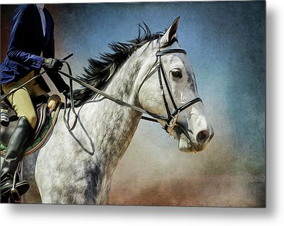 Metal Print featuring the photograph Andalucian Blue by Debby Herold