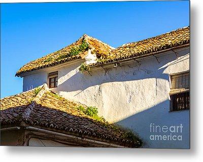 Andalusian Roofs Metal Print by Lutz Baar
