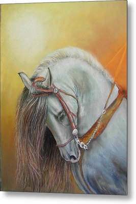 Metal Print featuring the painting Andaluz by Ceci Watson