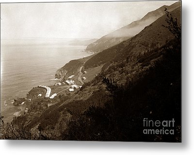 Anderson Creek Labor Camp Big Sur April 3 1931 Metal Print