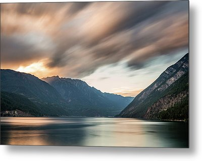 Metal Print featuring the photograph Anderson Lake Dreamscape by Pierre Leclerc Photography