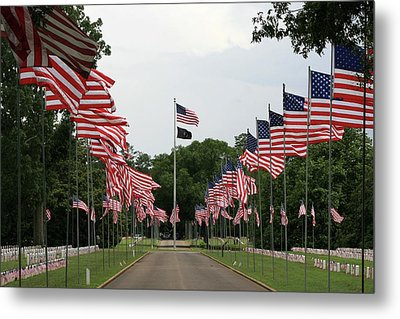 Andersonville National Cemetery Metal Print by Jerry Battle