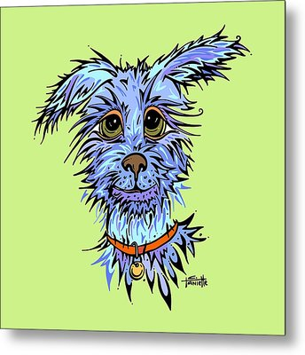 Andre Metal Print by Tanielle Childers