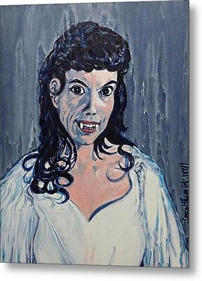 Andree Melly As Gina In The Brides Of Dracula  Metal Print