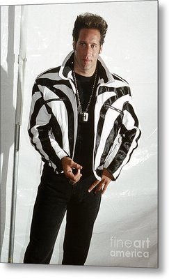 Metal Print featuring the photograph Andrew Dice Clay 1989 by Chris Walter