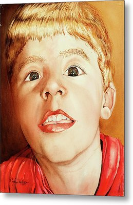 Andrew's Loose Tooth Metal Print