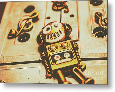 Android Rave Metal Print by Jorgo Photography - Wall Art Gallery
