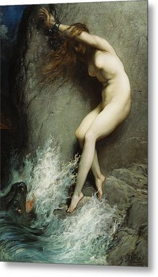 Andromeda Metal Print by Gustave Dore