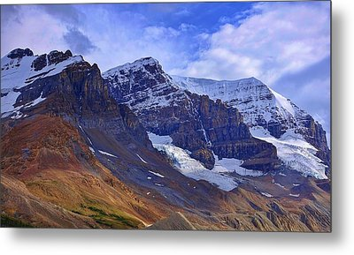 Mount Andromeda Metal Print by Heather Vopni