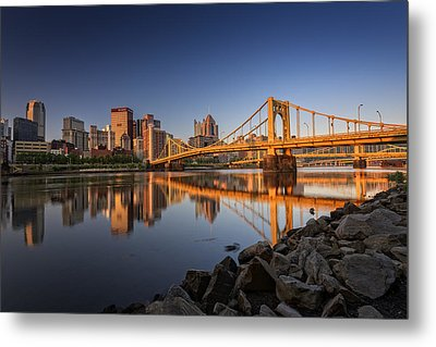 Andy Warhol Bridge Metal Print