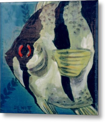 Angel Fish Metal Print by Dy Witt