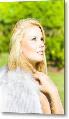 Angel From Heaven Metal Print by Jorgo Photography - Wall Art Gallery