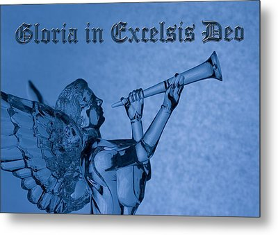 Metal Print featuring the photograph Angel Gloria In Excelsis Deo by Denise Beverly